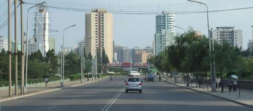 Streets in Pyongyang. [Image Credit: Nicor/Wikimedia Commons]