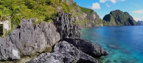 Unspoiled paradise of El Nido, Palawan, Image Credits: Christian Del Rosario/ YouTube screencap