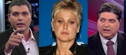 Xuxa e Datena trocaram farpas na internet por postura de Joel Datena.