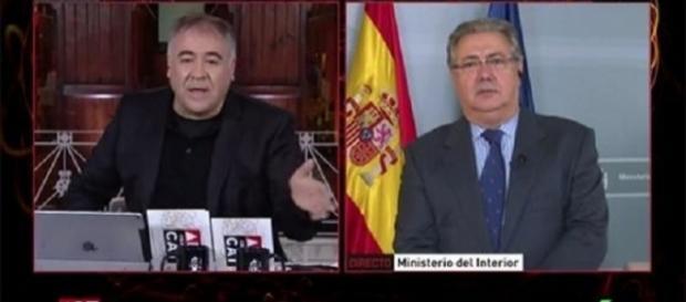 Antonio García Ferreras y Juan Ignacio Zoido