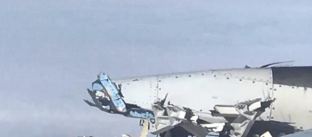 Engine Explodes on an Air France Plane, Forcing an Emergency Landing [Image via YouTube/Breaking News 24/7]