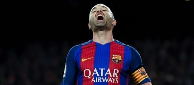 Iniesta se lesionó en el último partido