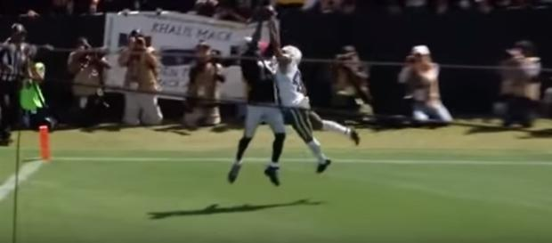 Michael Crabtree is an important offensive weapon for the Oakland Raiders. - Youtube screen capture / NFL