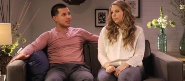 """Kailyn Lowry and Javi Marroquin are part of the new season of """"Marriage Boot Camp: Reality Stars."""" (Image Credit: Pictured: MTV/YouTube)"""