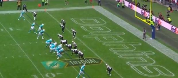 The Miami Dolphins looked bad against the New Orleans Saints - Youtube screen capture / NFL
