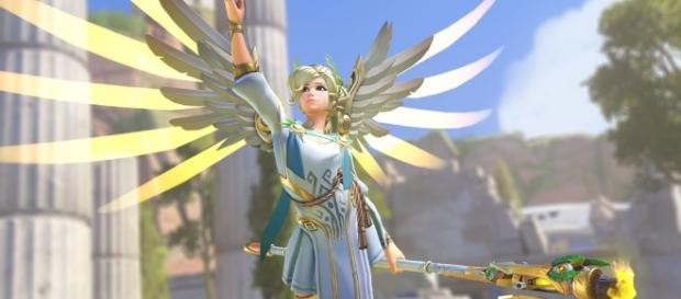 "Useful tips on how to play the new Mercy in ""Overwatch."" Image Credit: Blizzard Entertinment"