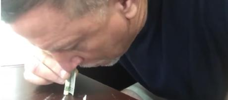 Dolphins OL Coach Chris Foerster Snorting Cocaine Image - BSOTV | YouTube