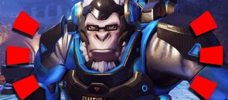 'Overwatch' will give a special Winston skin for Blizzcon attendees [Image Credit: ohnickel/YouTube].
