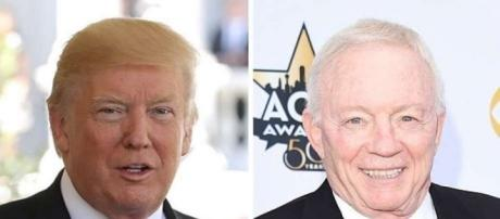 Trump Praises Jerry Jones for Stopping Cowboys Protests: 'Players ... - sfgate.com
