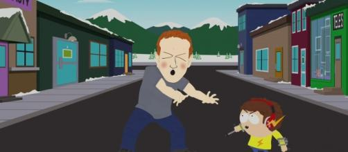 """A Hulu screenshot from """"South Park's"""" latest episode, """"Franchise Prequel"""""""
