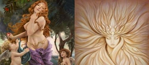 Afrodite, a deusa do amor e da beleza