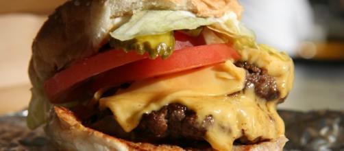 Burger from Five Guys -- Lauren/Flickr.