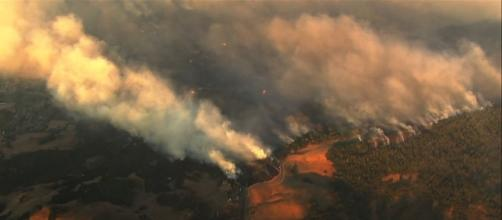 California's wine country reels from the damage of wildfire early this week. | Credit (Associated Press/YouTube)
