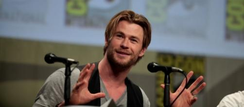 Chris Hemsworth gets candid about working with Elsa Pataky in new movie. (Flickr/Gage Skidmore)