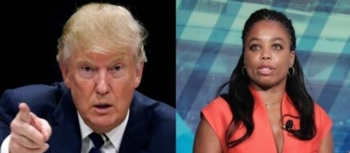 Donald Trump, Jemele Hill, via Twitter