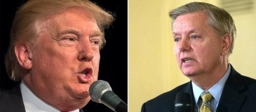 Donald Trump, Lindsey Graham, via Twitter