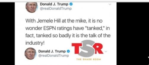 Donald Trump more concerned with ratings than the nation.