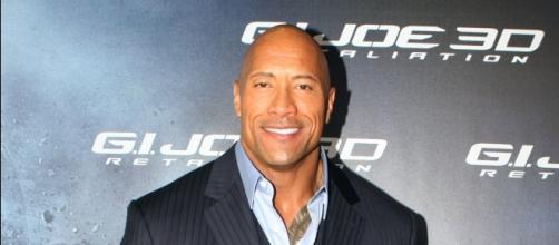 """Dwayne Johnson speaks up after Tyrese Gibson criticized him for accepting """"FF"""" solo movie. (Image Credit: Jeff Bailey/Wikimedia)"""