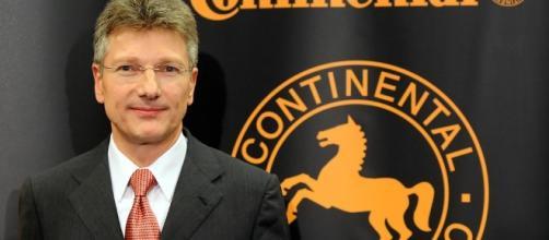 Elmar Degenhart, Presidente del Consejo Directivo y CEO de Continental