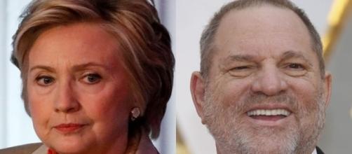 Hillary Clinton, Harry Weinstein, via Twitter