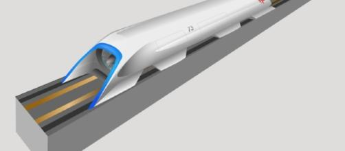 Hyperloop [Image courtesy of Camilio Sanchez/Wikimedia]