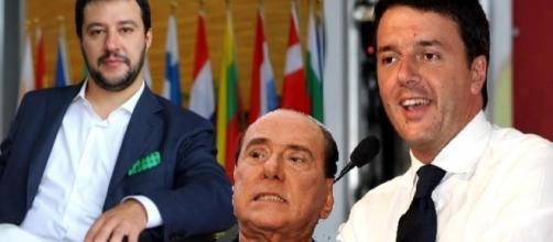 L'accordo tra Salvini, Berlusconi e Renzi è alla base del voto di fiducia sul Rosatellum bis
