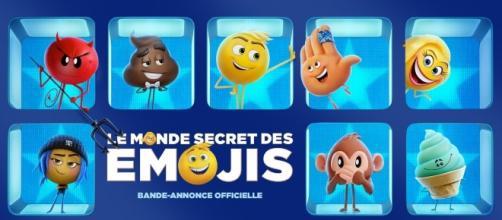 Le monde secret des emojis dessin animé