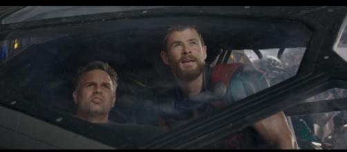 Mark Ruffalo and Chris Hemsworth star in 'Thor: Ragnarok' from director Taika Waititi. ~ Marvel Entertainment/YouTube