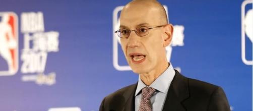 NBA Commissioner, Steve Adams on Rakuten deal. (via SPORT DAILY/YouTube)