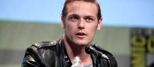 Sam Heughan opens up. [Image Credit: Gage Skidmore/Wikimedia Commons]