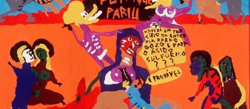 Pintura do artista Pedro Moraleida