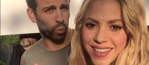 Piqué e Shakira têm dois filhos juntos