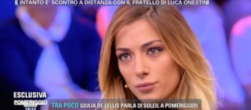"""Soleil Sorge in lacrime a 'Pomeriggio 5': """"Luca Onestini non potrà ... - isaechia.it"""