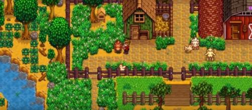 The game offers a lot of different activities aside from farming. Photo via NinEverything/YouTube