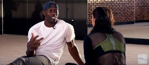 Terrell Owens during the rehearsals. [Image Credit: Dancing With The Stars /YouTube]