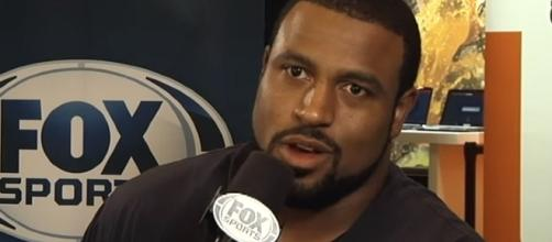 The Houston Texans are willing to trade Duane Brown for a future first-round draft pick. -- Youtube screen capture / FOX Sports