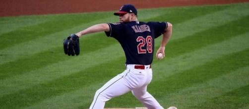 The Indians are hoping Corey Kluber returns to his old form Wednesday night. [Image via Wiki Commons]