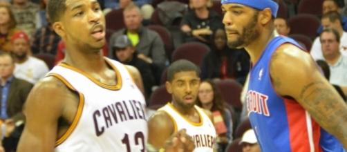 Tristan Thompson talks about becoming the sixth man. (Image Credit - Erik Drost/Wikimedia Commons)