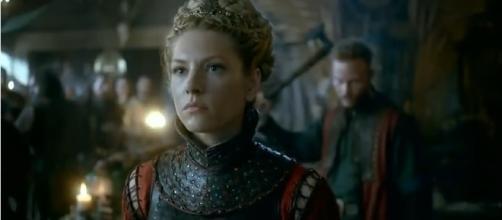 'Vikings' Season 5 spoiler: Katheryn Winnick teases Lagertha's victory over Ivar -- [Image Credit: History/YouTube