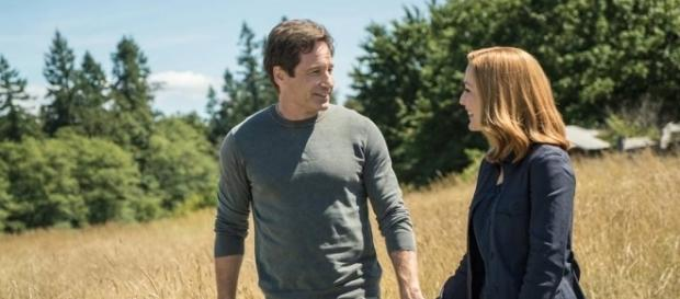 David Duchovny and Gillian Anderson star on FOX's 'The X-Files.' ~ (Image Credit: Thexfilesonfox/Facebook)