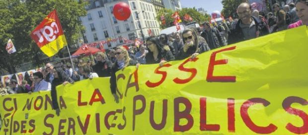 Emmanuel Macron récidive contre les fonctionnaires   L'Humanité - humanite.fr