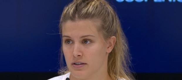 Eugenie Bouchard during a press conference at the 2017 US Open/ Photo: screenshot via US Open Tennis Championships channel on YouTube