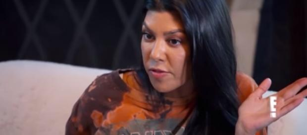 Kourtney Kardashian is getting 'mom-shamed' online. [Image credit:Clevver News/YouTube screenshot]
