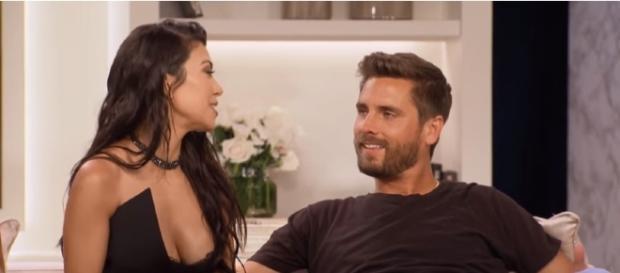 KUWTK | Kourtney Kardashian and Scott Disick Address Their Split | E! | E! Entertainment/YouTube Screenshot