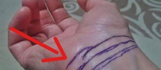 Saiba o que as linhas no pulso podem revelar sobre você