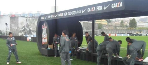 Treinos - Treino no CT Joaquim Grava (Sport Club Corinthians)