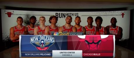New Orleans Pelicans vs Chicago Bulls; ( Image Credit: Ximo Pierto/Youtube channel)