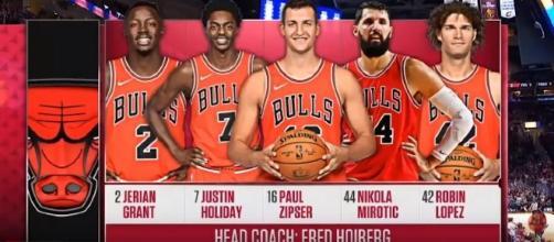 Chiacgo Bulls versus Cleveland Cavaliers. MLG Highlights/YouTube screen cap