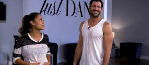 Dancing With The Stars: Maks and Vanessa. (Image via YouTube screengrab/ABC)