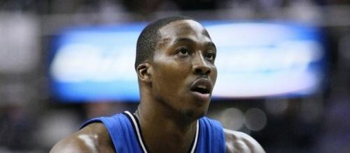 Dwight Howard during his days with the Orlando Magic. (Image Credit: Keith Allison/Flickr)
